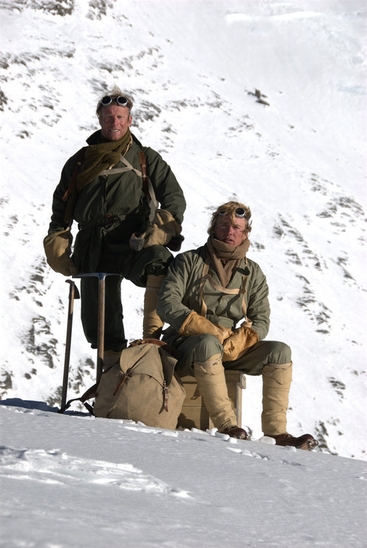The Wildest Dream: Leo Houlding as Sandy Irvine and Conrad Anker plays George Mallory., 90 kb