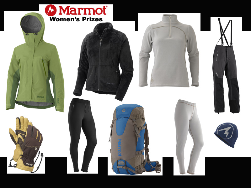 Marmot Women's Prizes, 100 kb