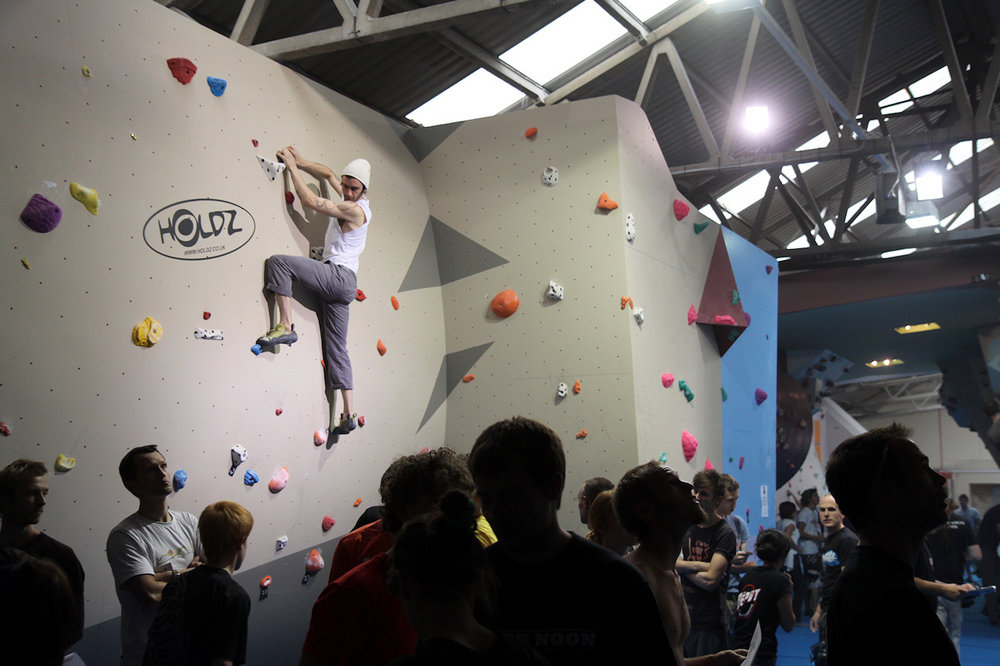 The Depot Climbing Centre, 120 kb