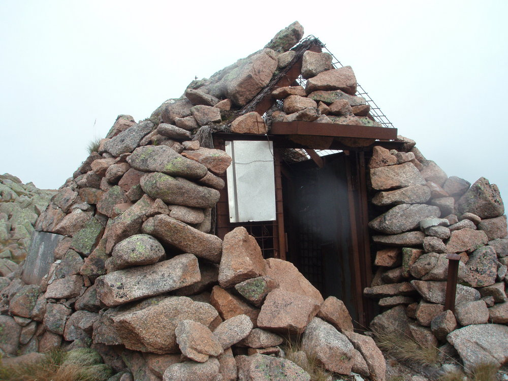 El Alamein.  A seldom visited bothy/mountain shelter in the Cairngorms., 167 kb