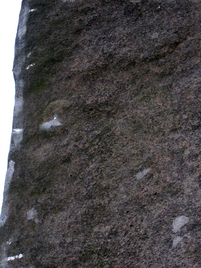 Brushing and tick marks on Careless Torque, Stanage, 172 kb