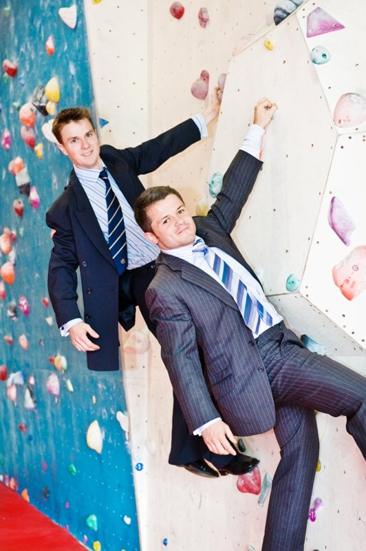 Ollie Noakes and Rob Lawrence of Boulders scale new heights in first year, 83 kb