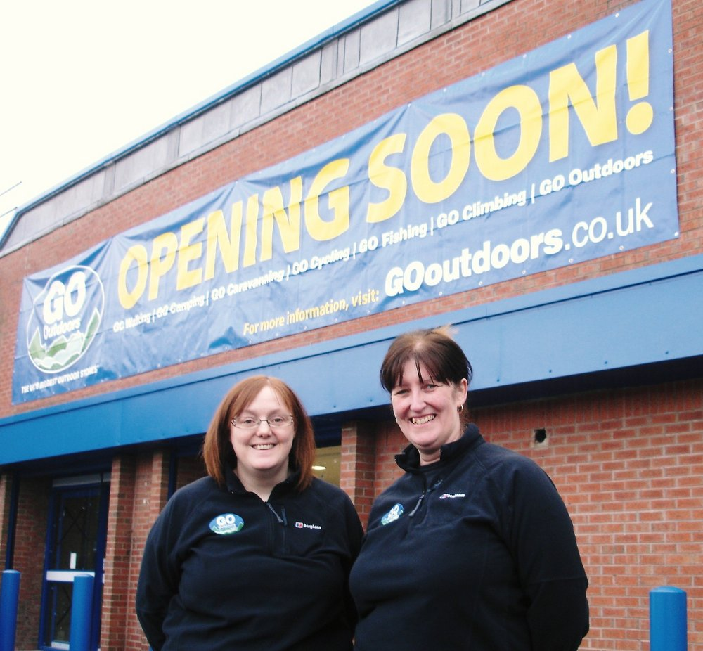 The new GO Outdoors Newcastle store - opening December 2009, 139 kb