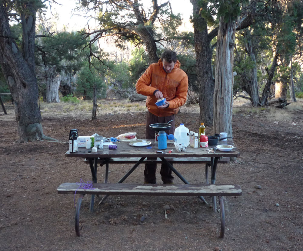 An early morning -4 start in the Black Canyon of Gunnison, Colorado, 226 kb