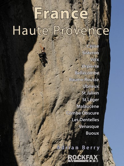 France : Haute Provence Rockfax Cover, 72 kb