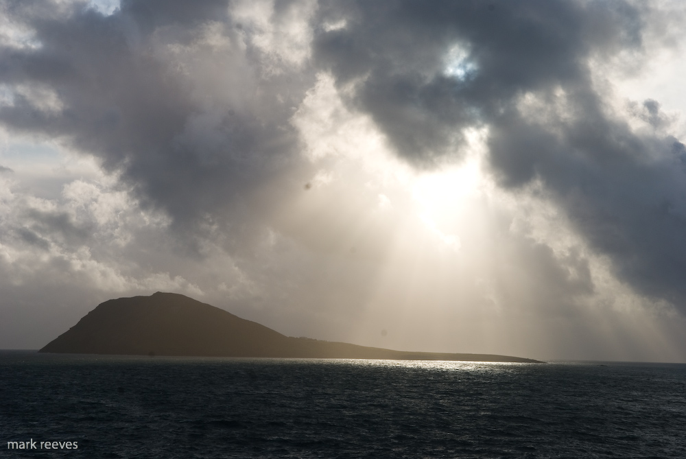 Another Squall comes scudding in across Bardsey Island, 202 kb