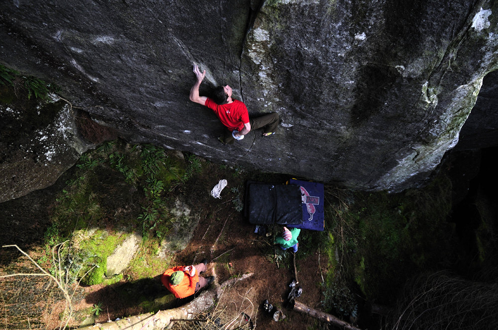 Ricky Bell on The Thing in the Forest - E7 6c, 221 kb