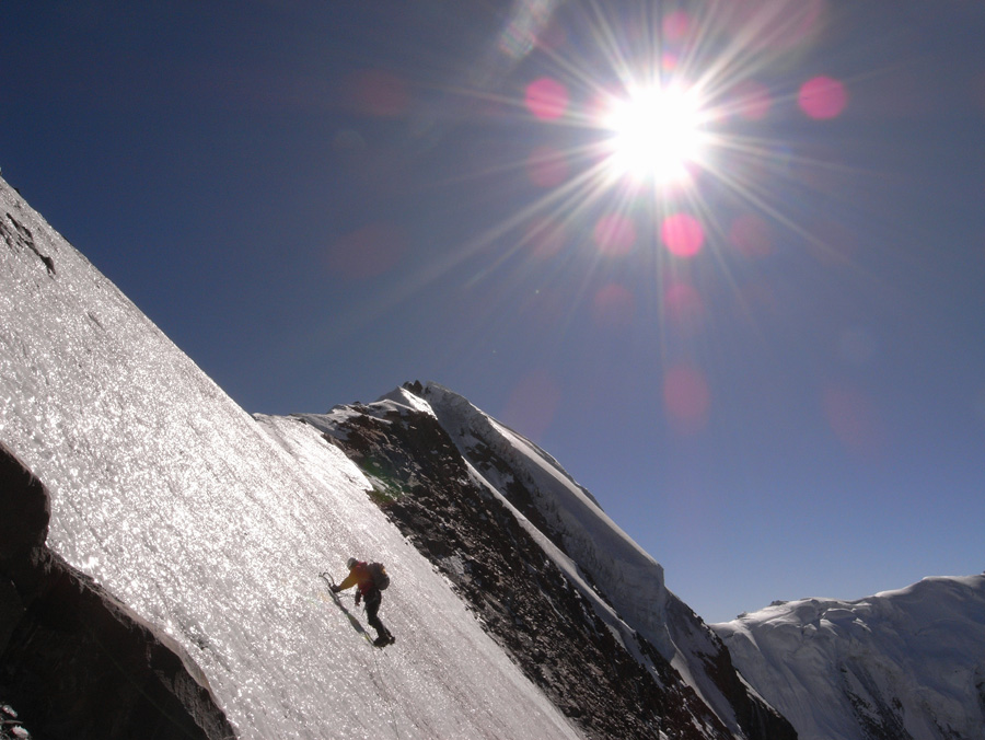 The first ascent of Ren  Zhong Feng, 188 kb