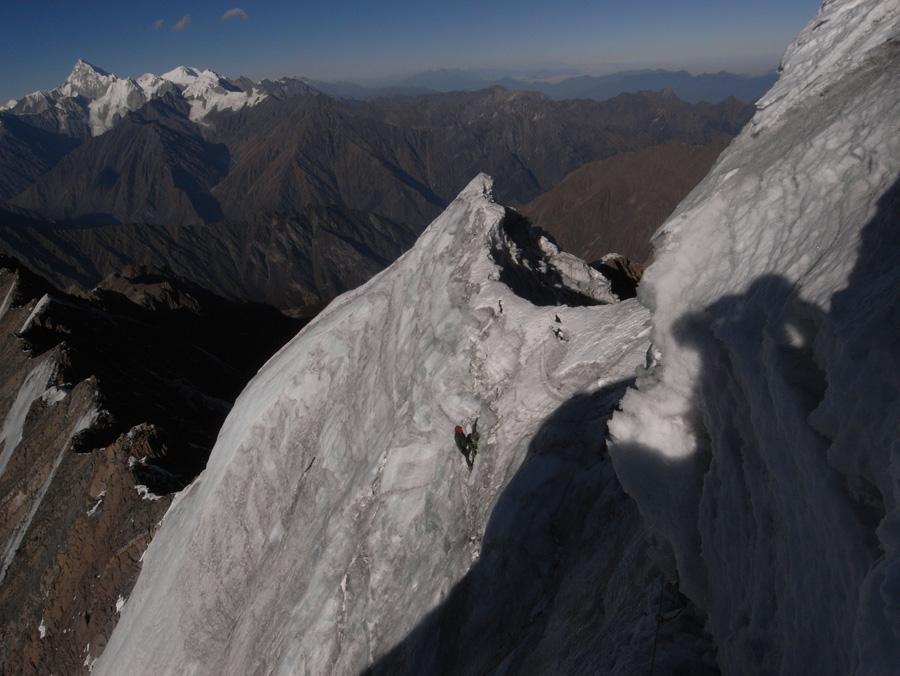 The first ascent of Ren  Zhong Feng, 196 kb