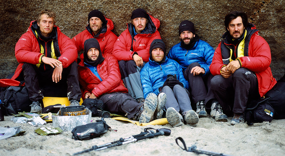 Team beard  - The Asgard team after 6 weeks in the Arctic., 202 kb