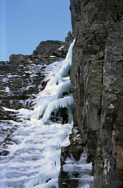 Winter climbing in Scotland, 127 kb