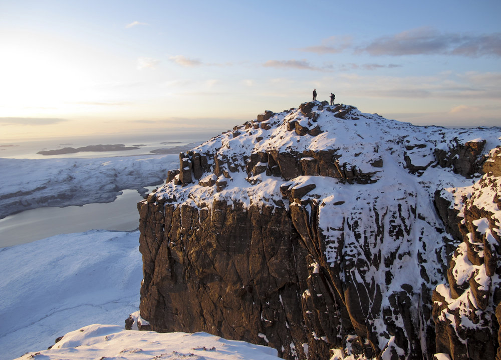 stac pollaidh in its winter coat, 173 kb