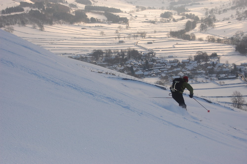 Ski-touring in the Yorkshire Dales, 109 kb