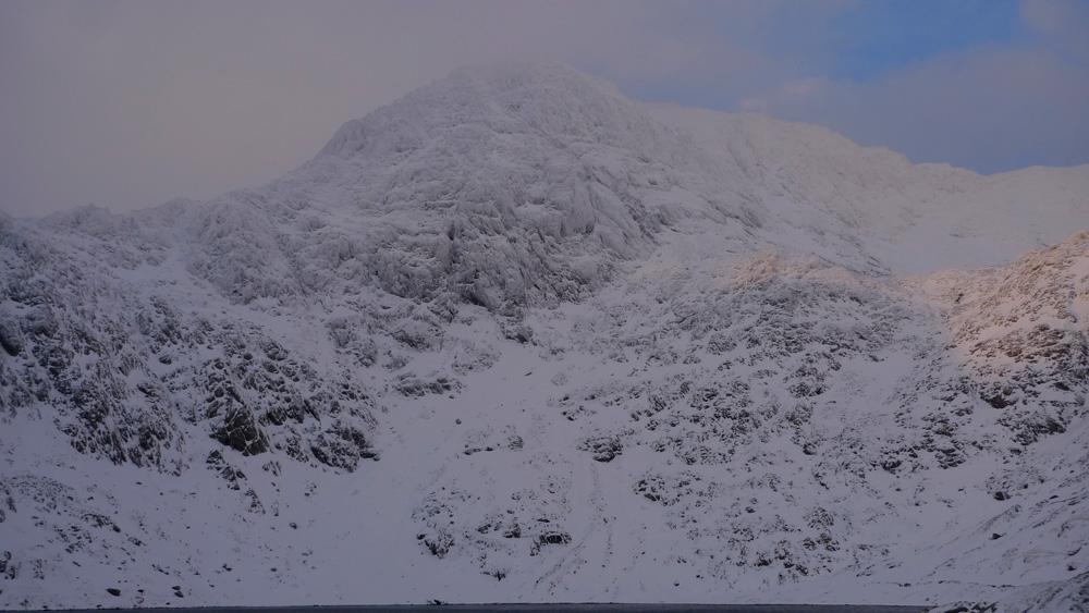 Snowdon summit, Clogwyn y Garnedd, Trinity Gullies, 166 kb