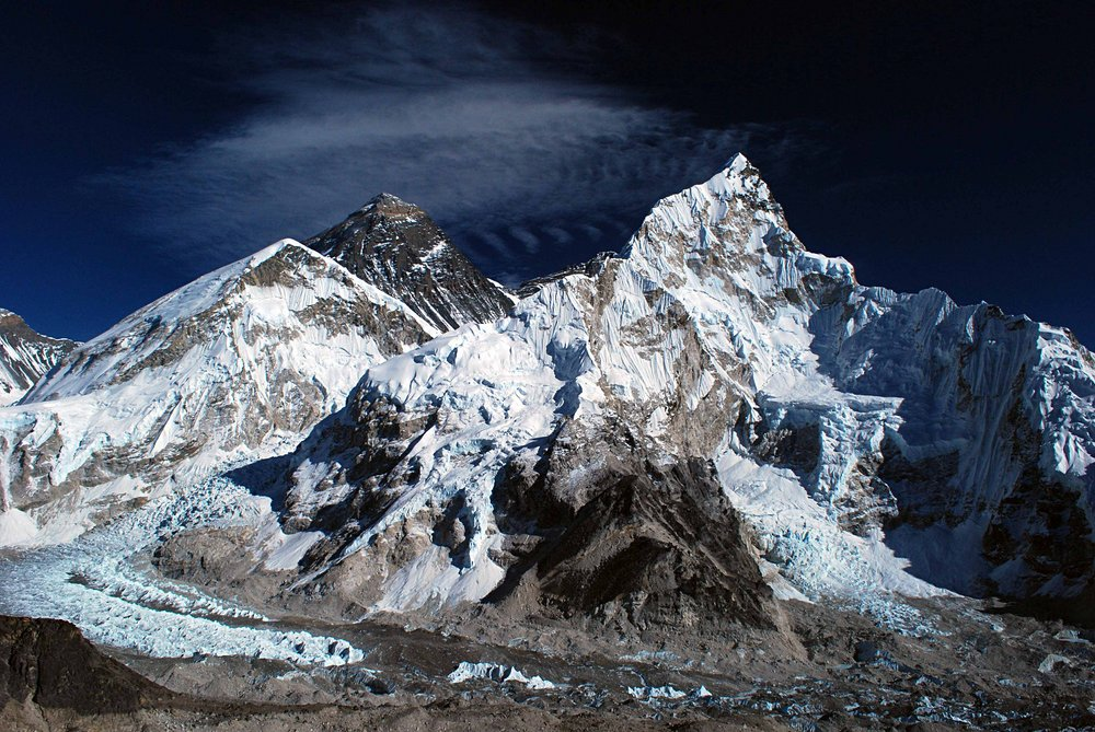 Everest- Nuptze from Kala Pattar, 187 kb