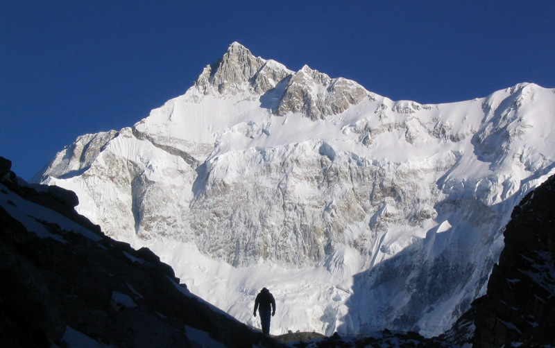 Kanchenjunga from Goeche La, Sikkim, 113 kb