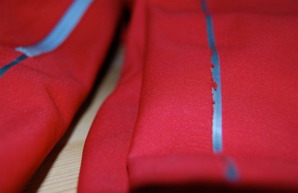 Marmot Genesis softshell jacket: Seam Fluff, 79 kb