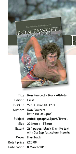 Ron Fawcett Book Info, 116 kb