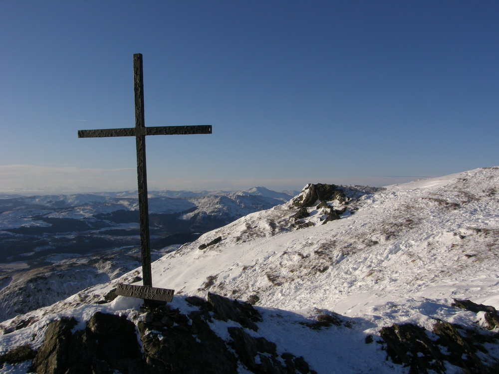 Ben Ledi summit, 121 kb