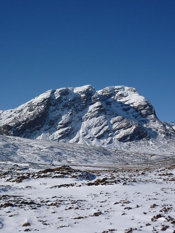 Sgurr Ruadh crags NW Highlands, 115 kb