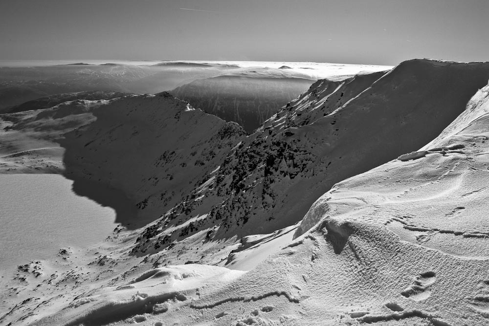 Red Cove from Helvellyn, 151 kb