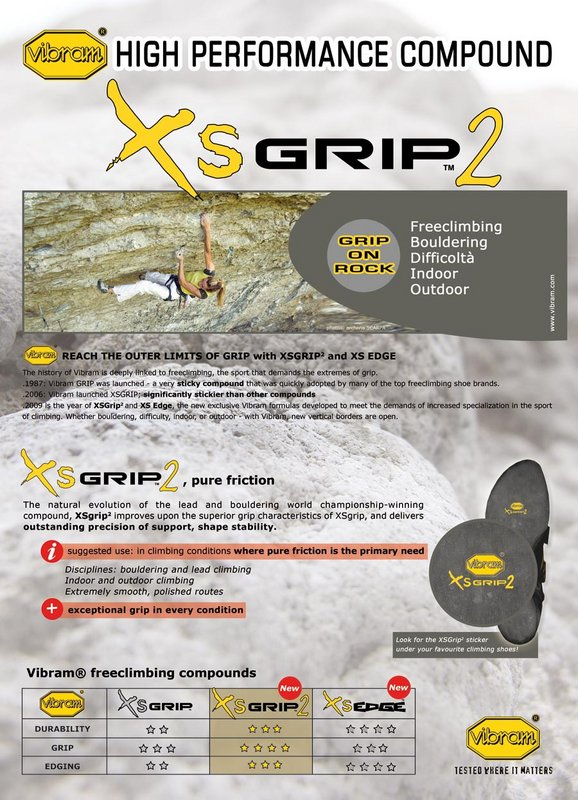 Vibram XS Grip 2, 120 kb