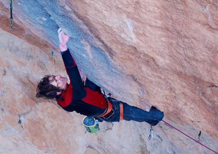 Adam Ondra on Golpe de Estado, F9b, Siurana, Spain, 131 kb