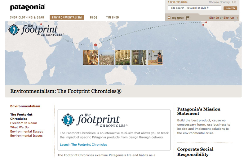Footprint Chronicles, 117 kb