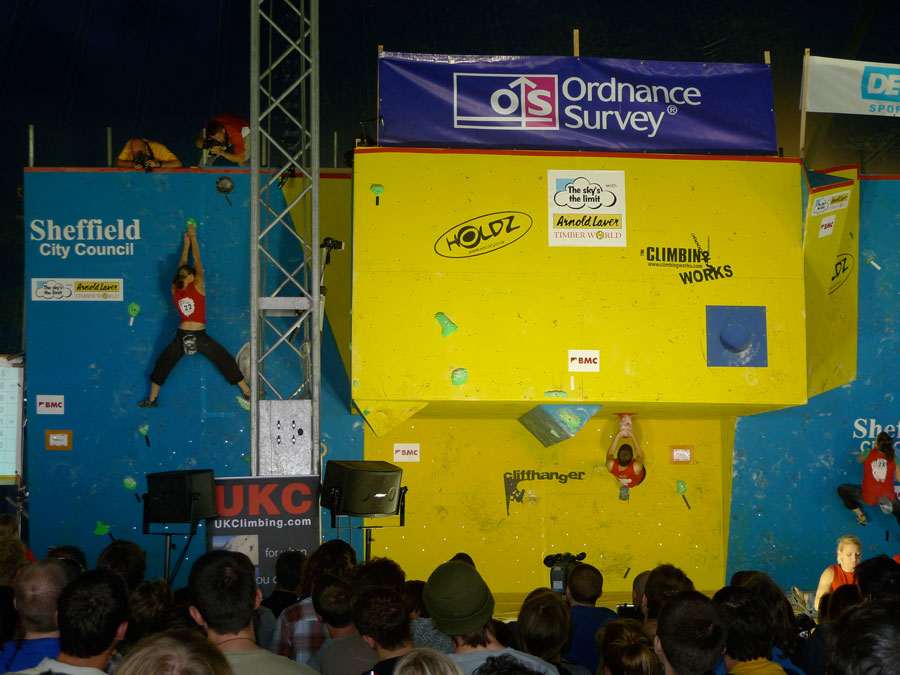The BMC's British Bouldering Championship 2009 at Cliffhanger, 123 kb