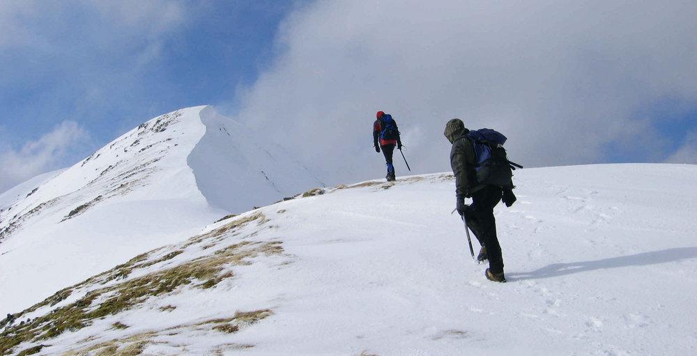 Ascending Mam Sodhail,Glen Affric, 78 kb