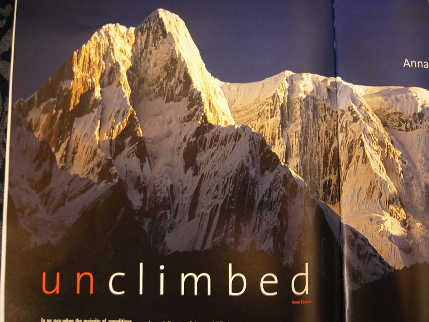 Alpinist 4 - from the Annapurna Expedition Blog, 84 kb