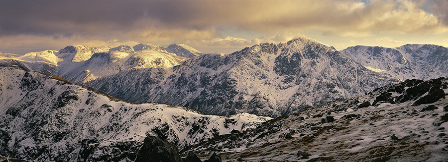 Scafell range. Great Gable and Pillar, 171 kb
