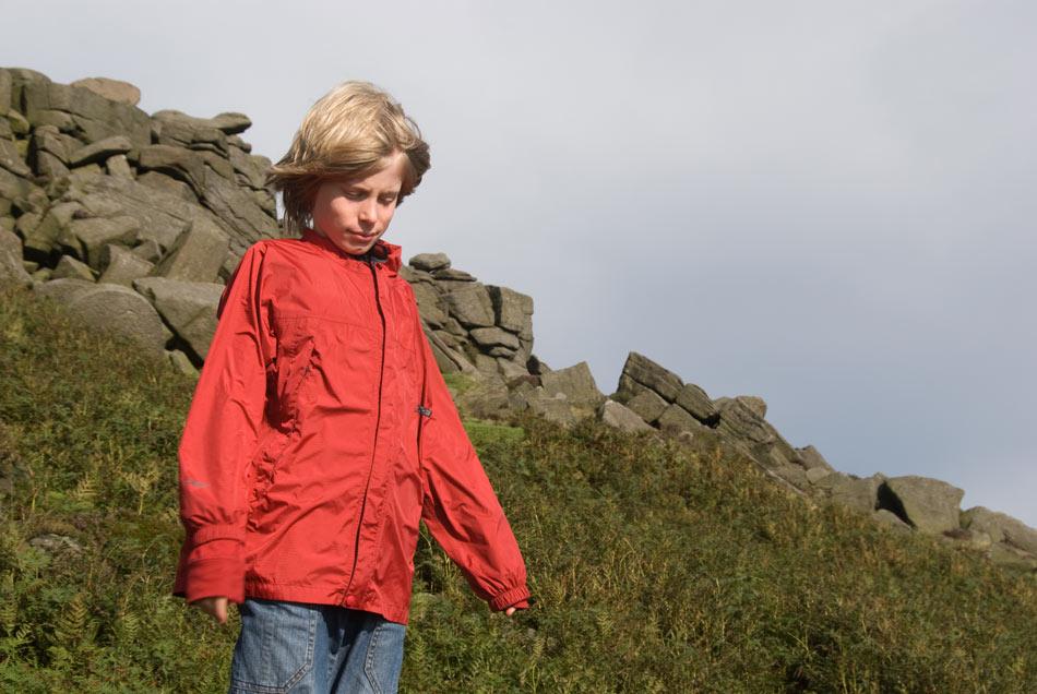 The Marmot PreCip kids jacket - boys red, 111 kb