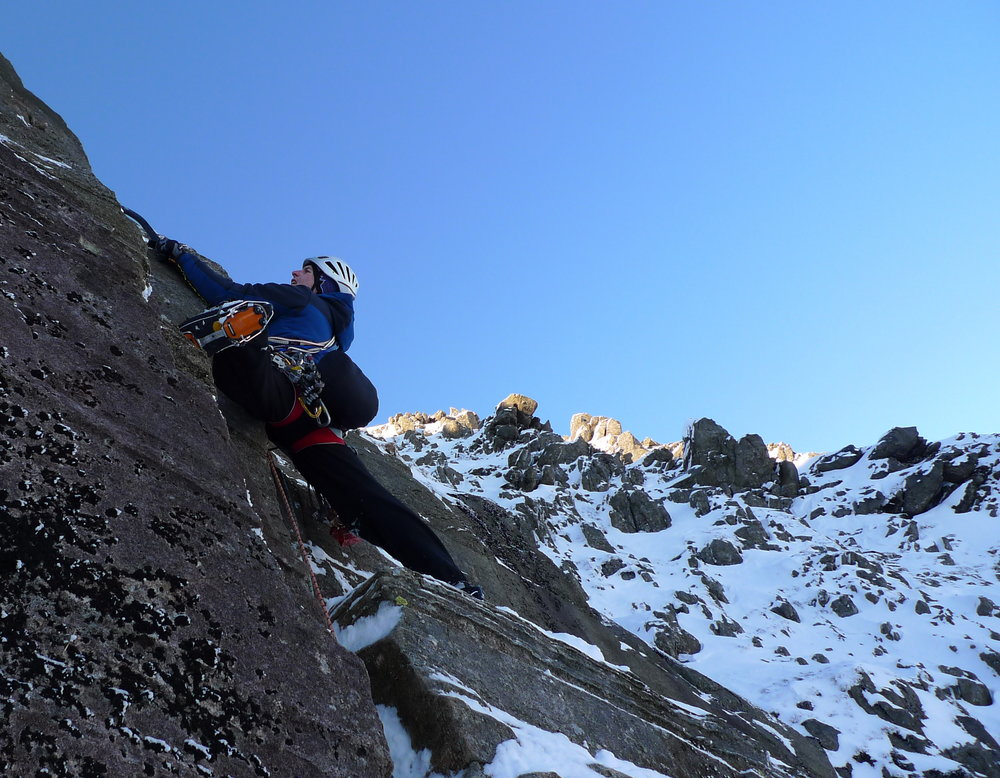 Testing the Cyborg Pro on Bowfell Buttress, 166 kb