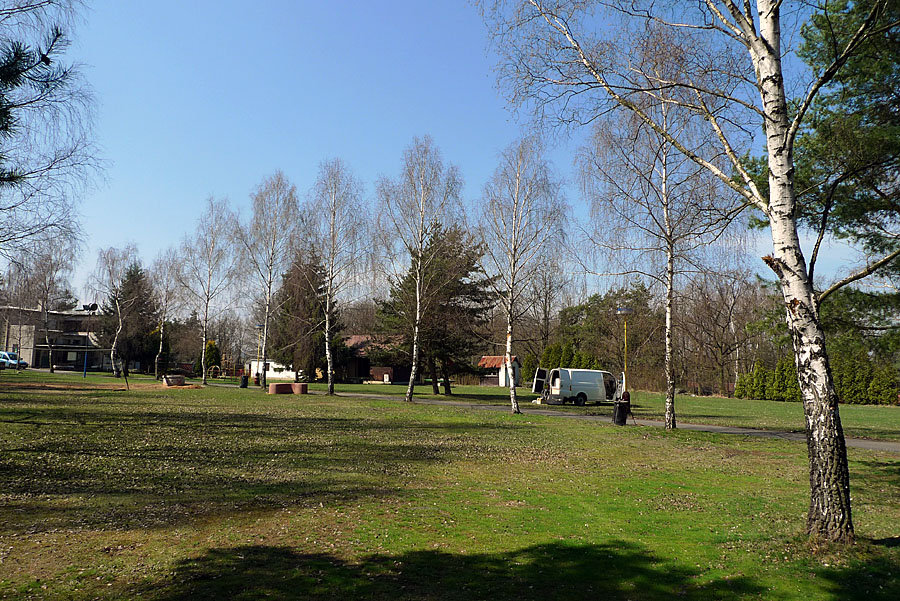 The campsite at Jesinice - 5 km from Petrohrad., 229 kb
