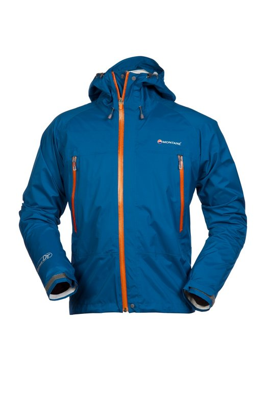 Montane Atomic DT Stretch Jacket - Moroccan blue / orange, 44 kb