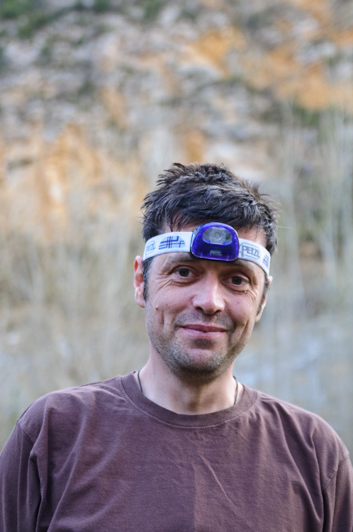 Neil Ronketti and the Tikka XP² in the Gorges de la Jonte, 128 kb