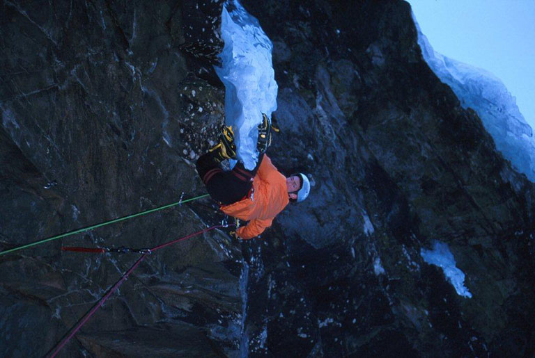 Stevie Haston on Arne M9,  Rjukan., 82 kb