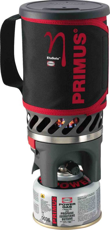 PRIMUS launches EtaSolo Stove: integrated, compact, lightweight #1, 58 kb