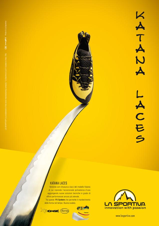 La Sportiva Katana Laces: Sword Advert, 63 kb
