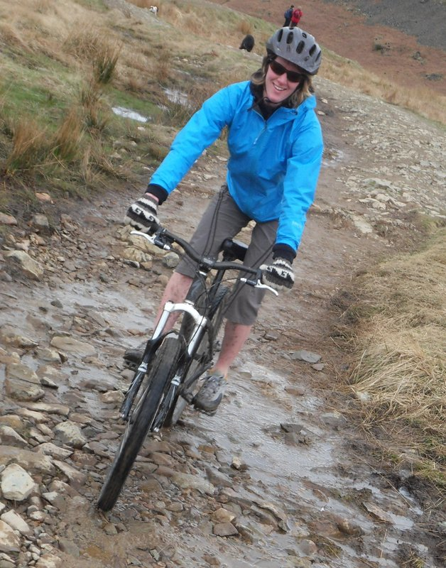 Biking over Loughrigg, Lake District, 138 kb