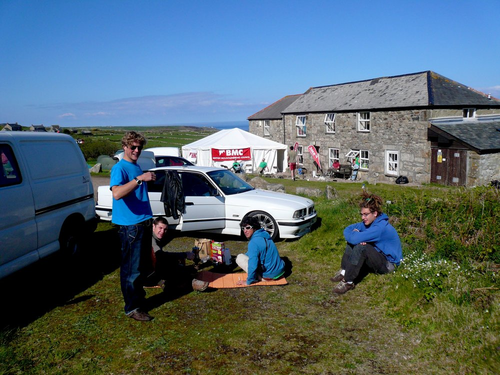 BMC International Meet at CC Hut in Cornwall, 175 kb