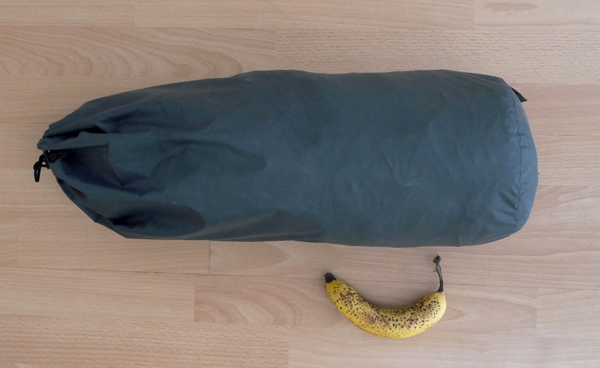 The Marmot Grid in its tent bag, 121 kb