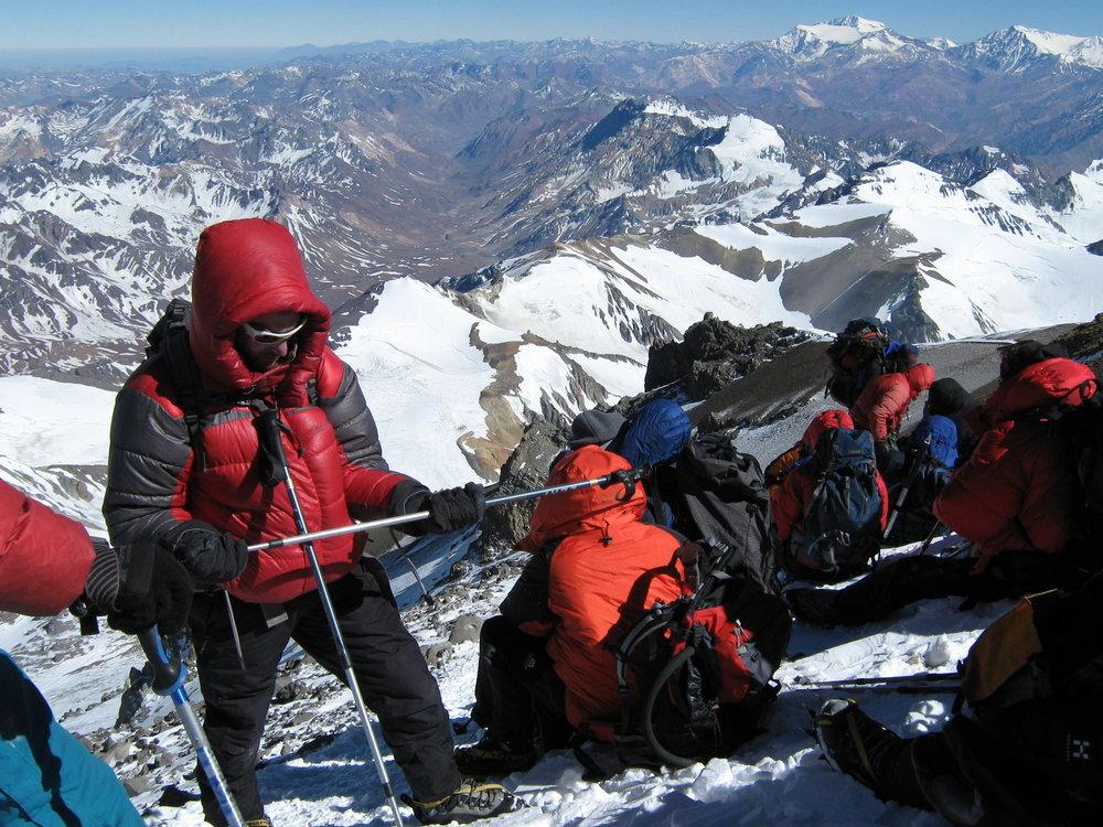 High on Aconcagua 31 December 2008, 206 kb