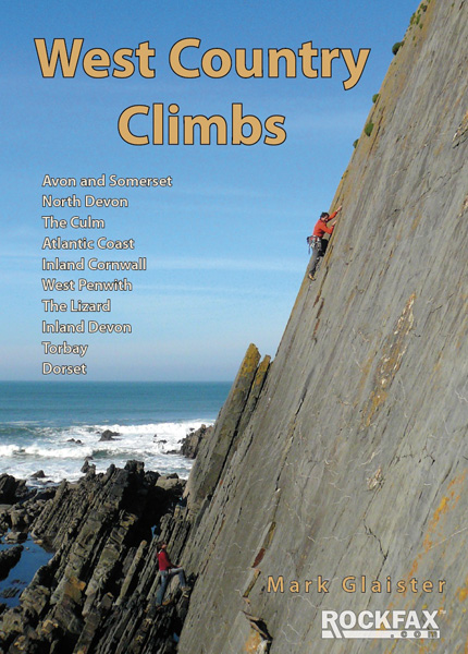 West Country Climbs Rockfax Cover, 141 kb