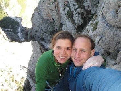 Nina Caprez and Cedric Lachat on Hotel Supramonte, Sardinia, 35 kb