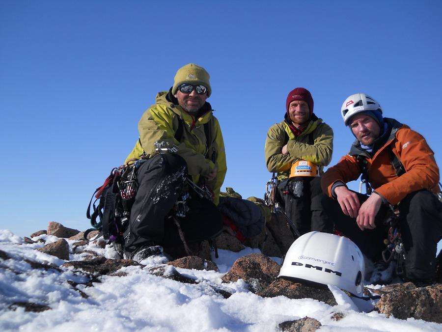 Twid Mark and Stu on the summit, 201 kb