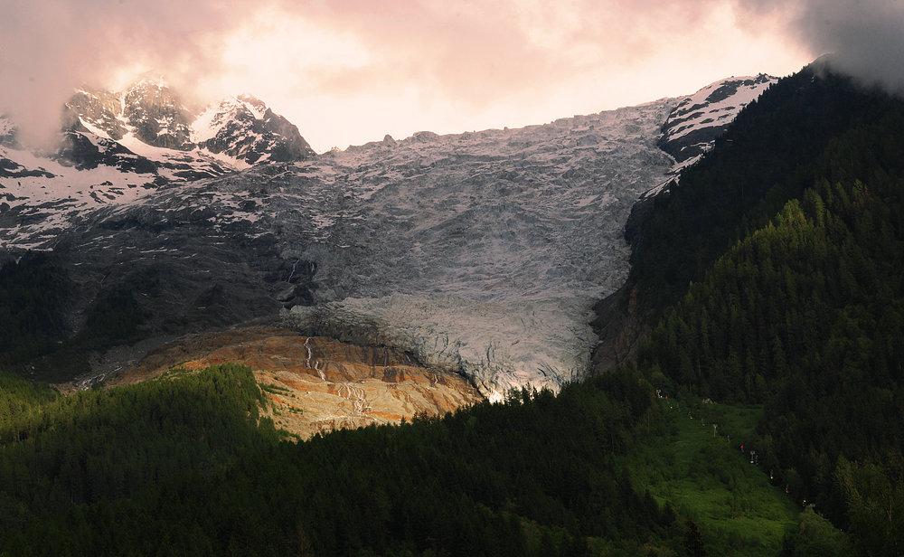 bossons glacier, chamonix , 139 kb