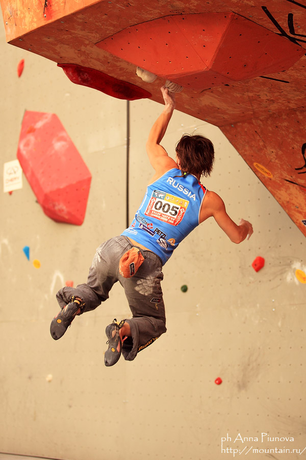 Russian climber and former World Cup winner Yulia Abramchuk, 115 kb