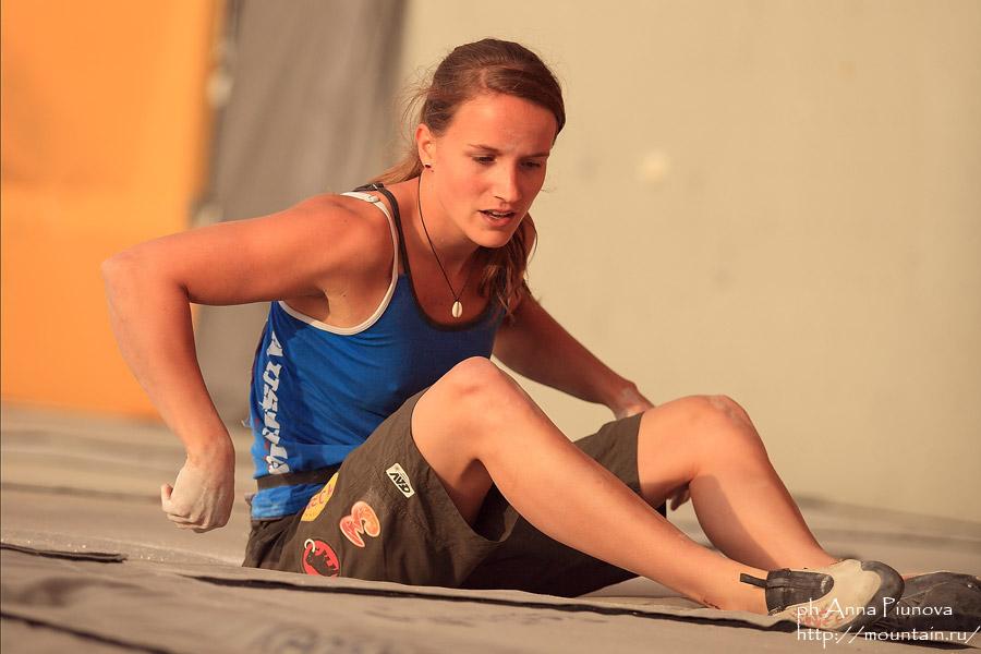 Austrian climber Anna Stohr , 90 kb